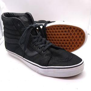 Vans Black Skate Hi All Leather Men's 11